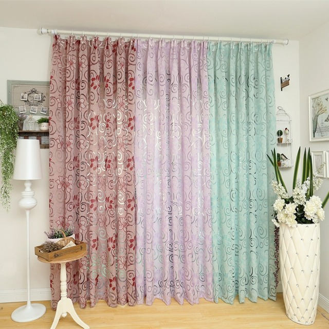 Aliexpresscom buy european curtain kitchen multicolored for Living room curtain fabric