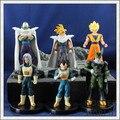 Dragon Ball Z Celular/Goku/Vegeta Figuras de Acción Figuras de PVC Juguetes Mejor Colección de Regalos 6 unids/set #054