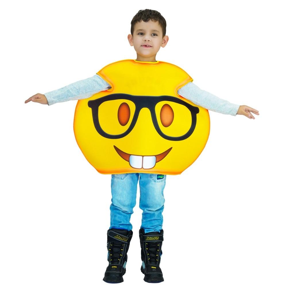 Online Shop New arrivals funny emoji costumes kids Children fancy ...