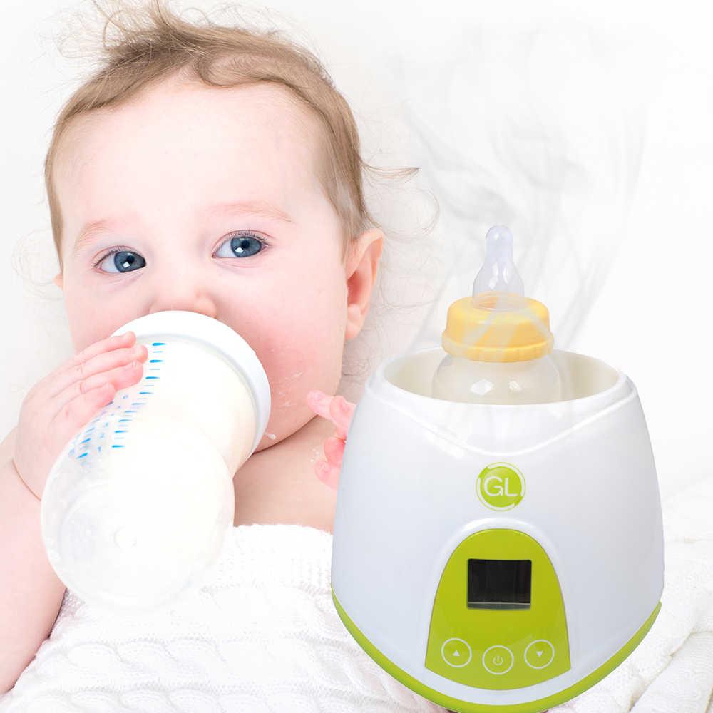 3 в 1 Многофункциональный детских бутылочек и Еда теплые стерилизаторы теплое молоко устройство ЖК-дисплей Экран дисплея интеллектуальные теплоизоляционные