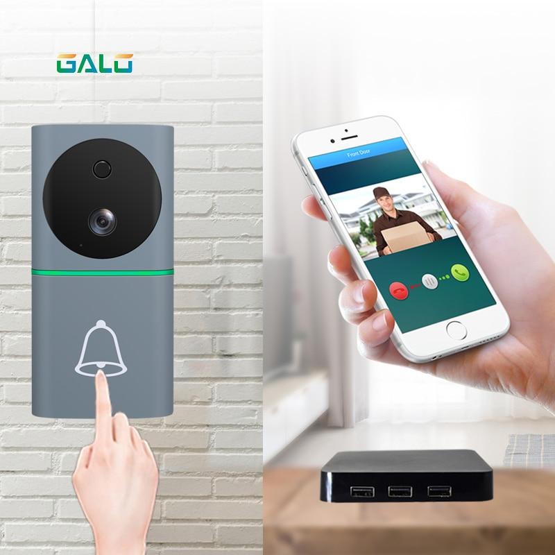 New Design 1080P Battery Powered WiFi Video Doorbell Mobile Phone APP Control Smart WiFi Doorbell Camera