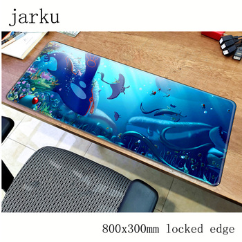 Pokemons mouse pad 800x300X2MM mouse mat laptop padmouse locked edge notbook computer gaming mousepad cute gamer play mats 1