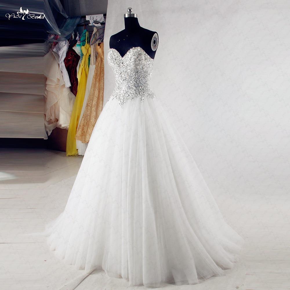 RSW985 bling wedding dresses (3)