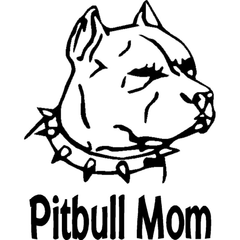 17 89 7cm Pit Bull Dog Animal Paw Prints Car Stickers Cute Vinyl