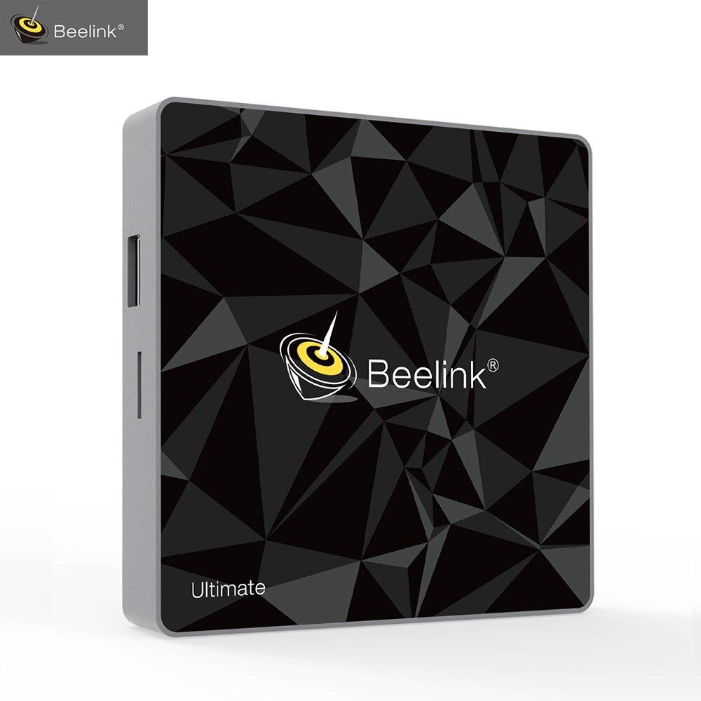 Beelink GT1 último Android 7,1 TV caja Amlogic S912 Octa Core CPU 3G RAM 32G ROM Bluetooth 4,0 FHD 4 K Set caja superior Media Player
