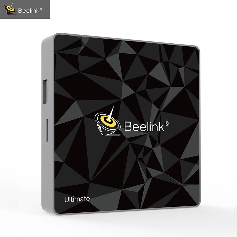 Beelink GT1 Ultimo Android 7.1 TV Box Amlogic S912 Octa Core CPU 3g di RAM 32g ROM Bluetooth 4.0 FHD 4 k Set Top Box Media Player