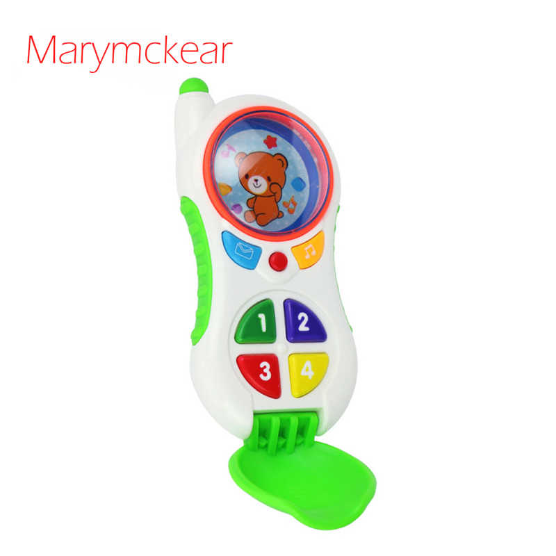 Musical Toy Baby toy Mobile Phone With Multifunctions Baby Toys Newborn in Cute Cartoon Design Speelgoed Baby