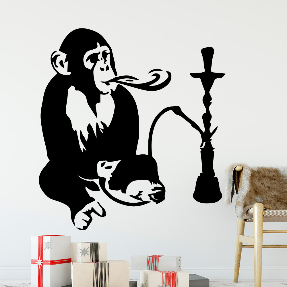 Funny  Wall Sticker Pvc Wall Art Stickers Modern Fashion Wallsticker For Baby Kids Rooms Decor Art Decoration DIY Home Decor