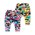 Children's clothing 2016 Camouflage child casual trousers male child 100% cotton harem pants baby bloomers