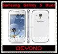 Samsung Galaxy S Duos S7562 telefone Dual Sim desbloqueado 3G GSM telefone móvel 4.0 ''WIFI GPS 5MP 4 GB de smartphones