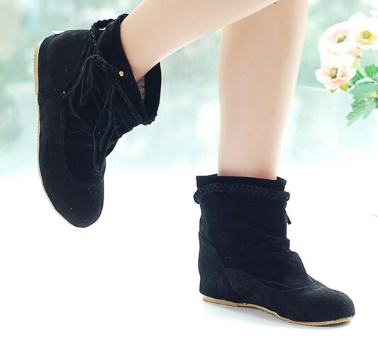 Aliexpress.com : Buy Women Boots Autumn New Fashion Tassel Ankle ...