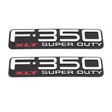 1pcxFree Shipping ABS F350 F-350 XLT F350XLT Super Duty Emblems Badges