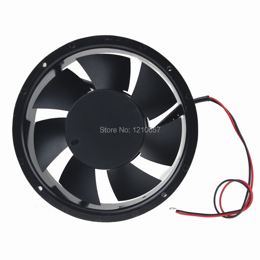 2 Pieces lot DC 12V 17CM 170MM 172x51MM Cooling Cooler Metal Industrial Fan коляски 2 в 1 smile line serenade 16 2 в 1