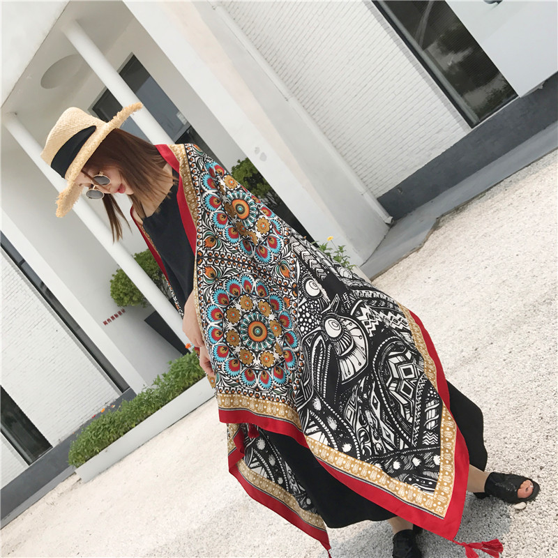 Lady Fashion Voile Cotton Girls   Scarves   Stoles Ponchos Capes Women LIC Silk Popular   Scarf     Wrap   Shawl Beach Towel Pashmina Tippet