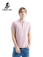 Pioneer Camp polo men shirts Brands Male Short Sleeve Casual Top Polo Solid Color Bear Embroidery shirt ADP901187