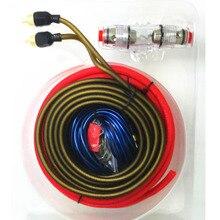 Car Audio Wire 8GA Power Cable 60 AMP Fuse Holder Amplifier Subwoofer Speaker Installation Kit