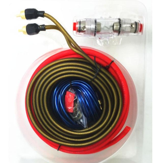 car audio wire 8ga power cable 60 amp fuse holder amplifier subwoofer speaker installation kit. Black Bedroom Furniture Sets. Home Design Ideas