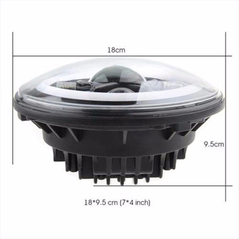 Dritat e dritave 7inch 45W LED Fenerët e dritës së sinjalit të - Dritat e makinave - Foto 5