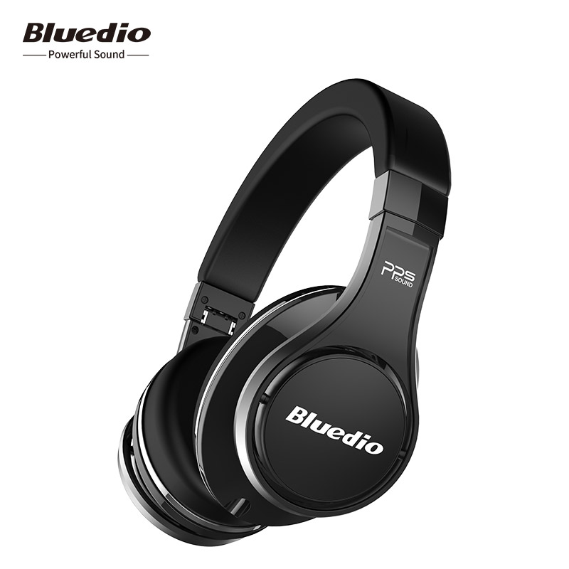 2018 Real Bluedio U(UFO)high-end Bluetooth Wireless Headphone Patented 8 Drivers/3d Sound/aluminum Alloy/hifi Over-ear Headset