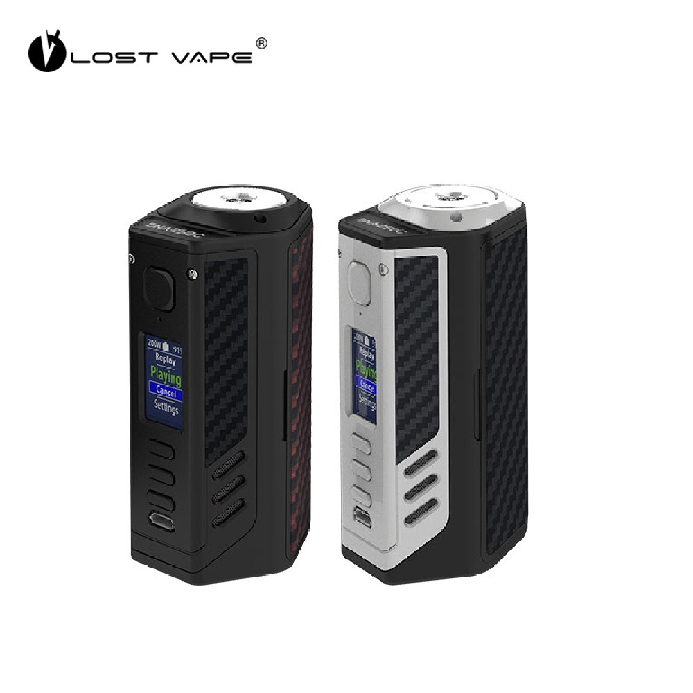Originale Perso Vape Triade 300 w DNA250C TC Box MOD W/Evolv DNA250C Chipset REPLAY & Funzione BOOST Vs cylon/Istick pico Mod