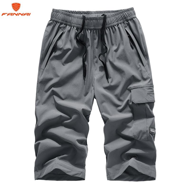 2018 NEW Summer Brand  Leisure Large Size 6XL 7XL8XL Mens Jogger Sporting  Short Men Black Bodybuilding Short Pants Male Shorts