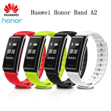 "Huawei Honor A2 Smart band Wristband with Heart Rate Monitoring 0.96"" PMOLED Screen Waterproof For Android/IOS(China)"