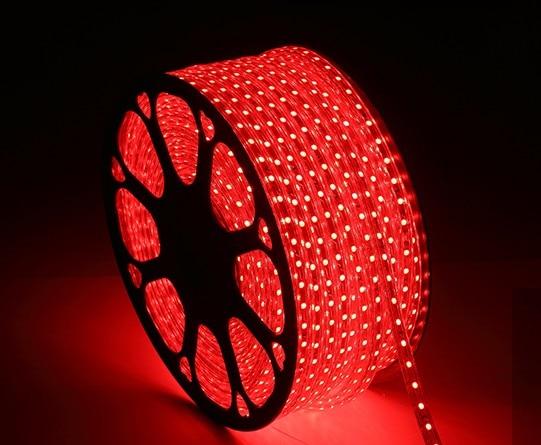 LED Strip 3014 red yellow blue green white Warm white purple DC220V flexible light waterproof 120PCS/1M 5M/1LOT