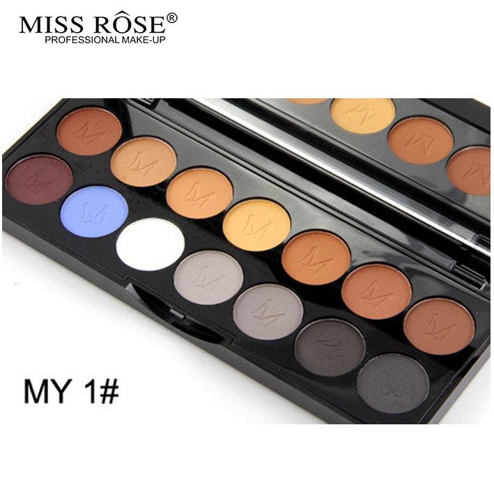 2016 MISS ROSE Shimmer 14colors diamond bright colorful eye shadow super flash paleta Glitter eyeshadow pallete matte Eyeshadow7