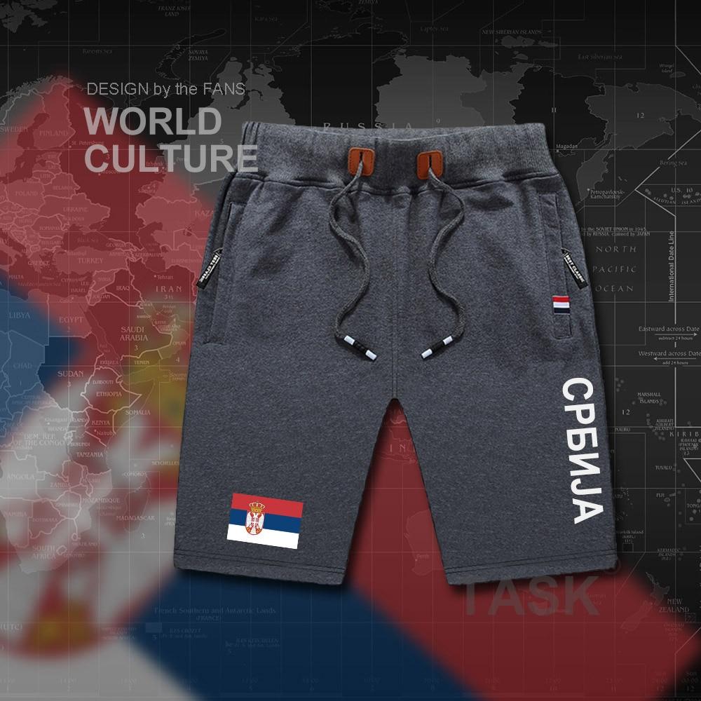 5cd10eeec7 2019 Serbia Serbian Serbs Mens Shorts Beach Man Men'S Board Shorts ...