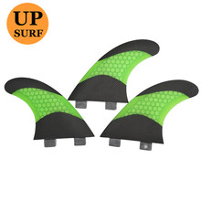 Surf Fins FCS Barbatana G5 Bicolor Honeycomb Surfing of 5 Colors Quilhas