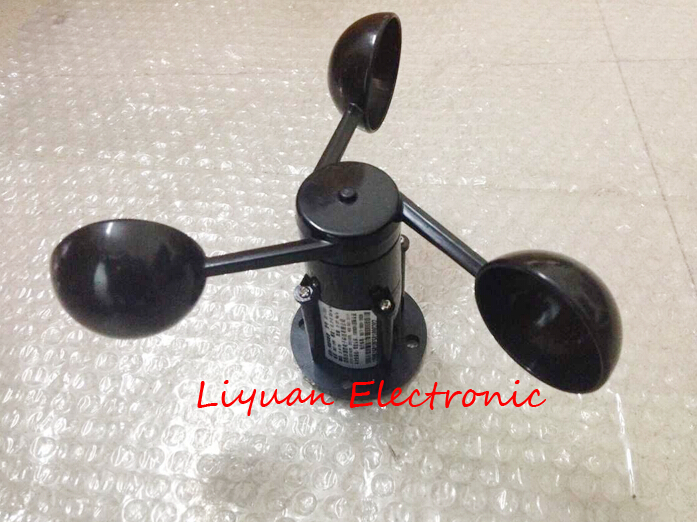 Image 2 - 0 5V voltage wind speed sensor / Voltage output Anemometer / 360 degree wind speed sensor-in Sensors from Electronic Components & Supplies