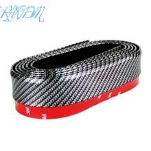 Body-Kit Lip-Splitter Spoiler-Side Carbon-Fiber Universal Skirt Front Chin Black