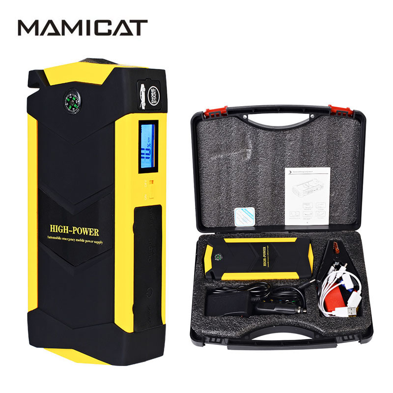 2017 New 82800mAh Car Jump Starter For Universal Cars Emergency Power Bank Digital Products font b