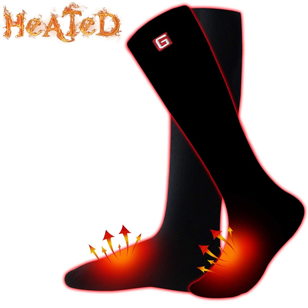 GV Smart Electric Heated Socks Men For Cold Winter Warm Skiing Socks,Rechargeable Battery Heating Socks Women mattress