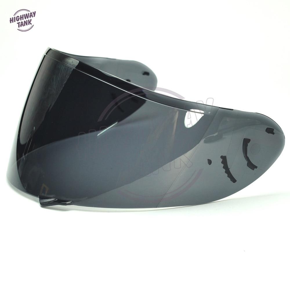 Humo oscuro de la motocicleta del casco de la visera de cara completa escudo para SHOEI CW1 CW-1 X-12 XR-1100 Qwest X-espíritu 2X12 máscara de visera