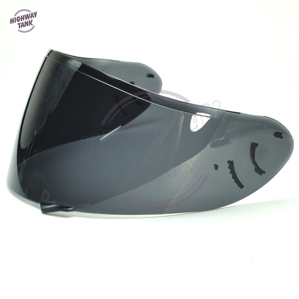 Scuro di Fumo Moto Visiera del Casco Lente Pieno Viso Shield di Caso per SHOEI CW1 CW-1 X-12 XR-1100 Qwest X-Spirito 2X12 Visiera Maschera