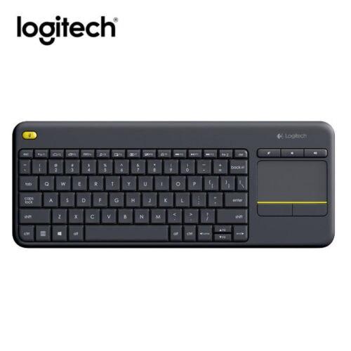 все цены на Logitech K400 Plus Wireless Keyboard with Touchpad Keyboard For PC TV онлайн