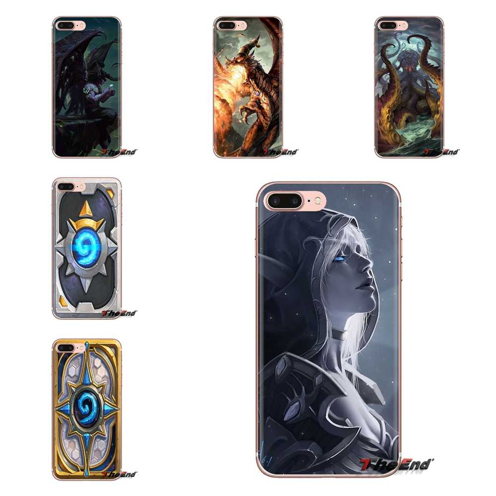 Untuk LG G3 G4 Mini G5 G6 G7 Q6 Q7 Q8 Q9 V10 V20 V30 X Power 2 3 K10 k4 K8 2017 Lembut Tpu Ponsel Case Pahlawan Dasar Perapian Warcraft