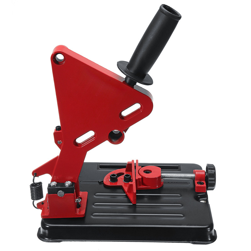 Angle Grinder Stand For 100-125 Angle Grinder Bracket Holder Woodworking Tool DIY Cutting Cast Iron Base Power Tools Accessories (5)