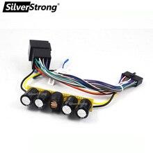 SilverStrong шумоподавитель фильтр шумоподавления Настройка звука с реле конденсатора для удаления шума электричества для автомобиля dvd