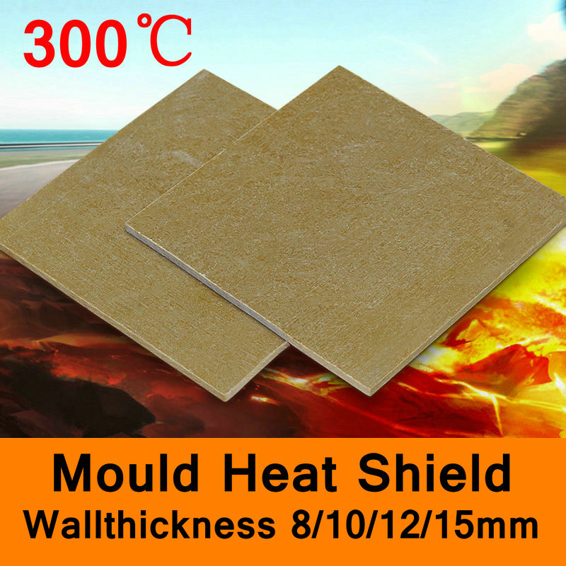 300 Degree Centigrade Mold Mould Heat Shield Glass Fibre Sheet High-temperature Plate Insulating Base Board 8mm 10mm 12mm 15mm household product plastic dustbin mold makers