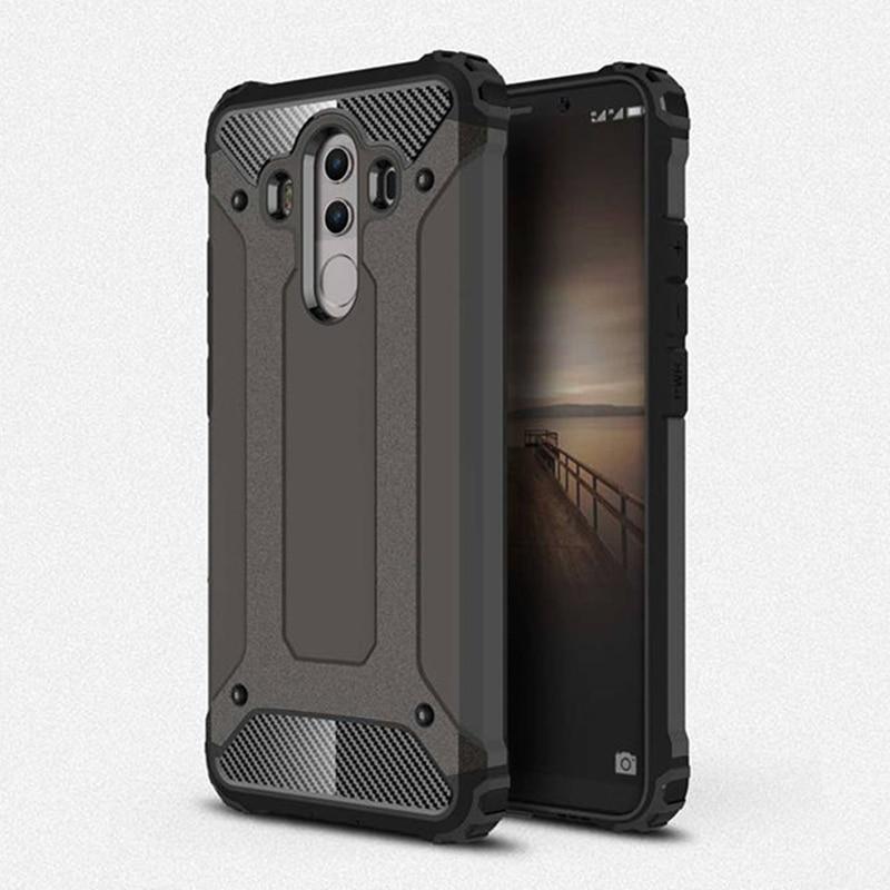 Противоударные Чехлы для Huawei Mate 10 Pro, двухслойный Гибридный армированный жесткий чехол-накладка для Huawei Mate 9 Coque Mate 10, защитный чехол