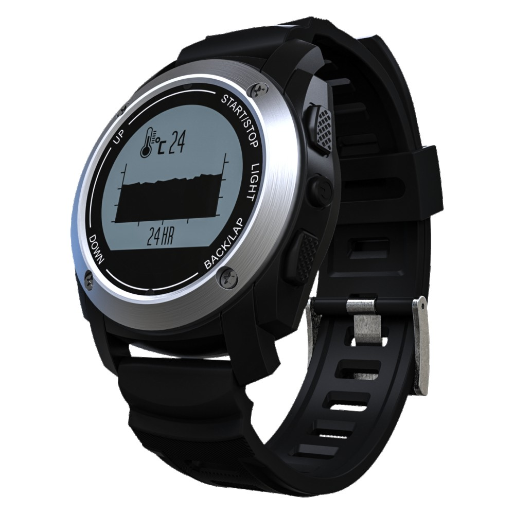 Smartch GPS Sport Smart Watch S928 Bluetooth Watch Heart Rate Monitor Pedometer Speed Tracker Pressure Altitude Waterproof smartch s928 smart watch gps sport smartwatch professional heart rate monitor air pressure altimeter smart band for ios android