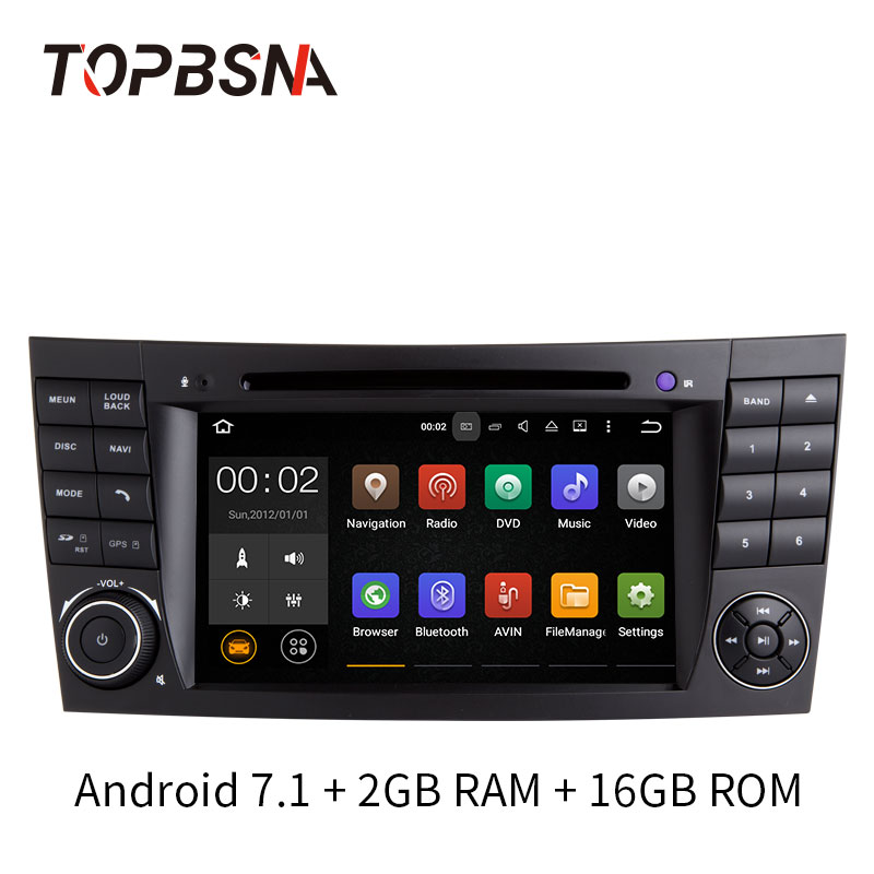topbsna 7 inch 2 din android 7 1 car dvd player for. Black Bedroom Furniture Sets. Home Design Ideas