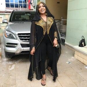 Image 3 - ואגלי גלימות דובאי קפטן שמלת מפלגה מוסלמית העבאיה נשים ערבית Cardigain טלאי טורקיה האיסלאם תפילה קפטן Marocain שמלות