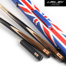 RILEY RES-301 Handmade 9.5mm Deer Tip One Piece Billiard Snooker Stick Cue with Case Extension Original England Taco Black 8