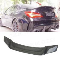 CLA Class R Style Carbon Fiber Rear Trunk Wings Spoiler for Mercedes CLA45 W117 C117 CLA 200 250 260 Sedan 2013 2018