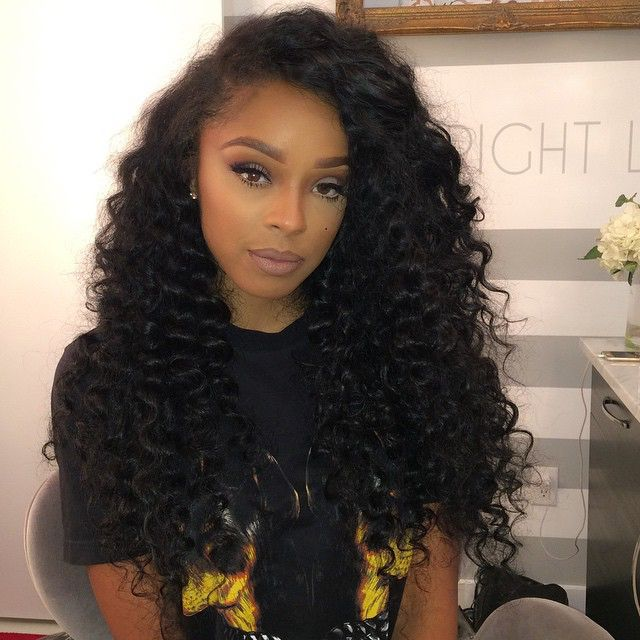 Ciara Kinky Curly Hairstyle Long Lace Front Wig With Side Part 5A Grade On Aliexpress