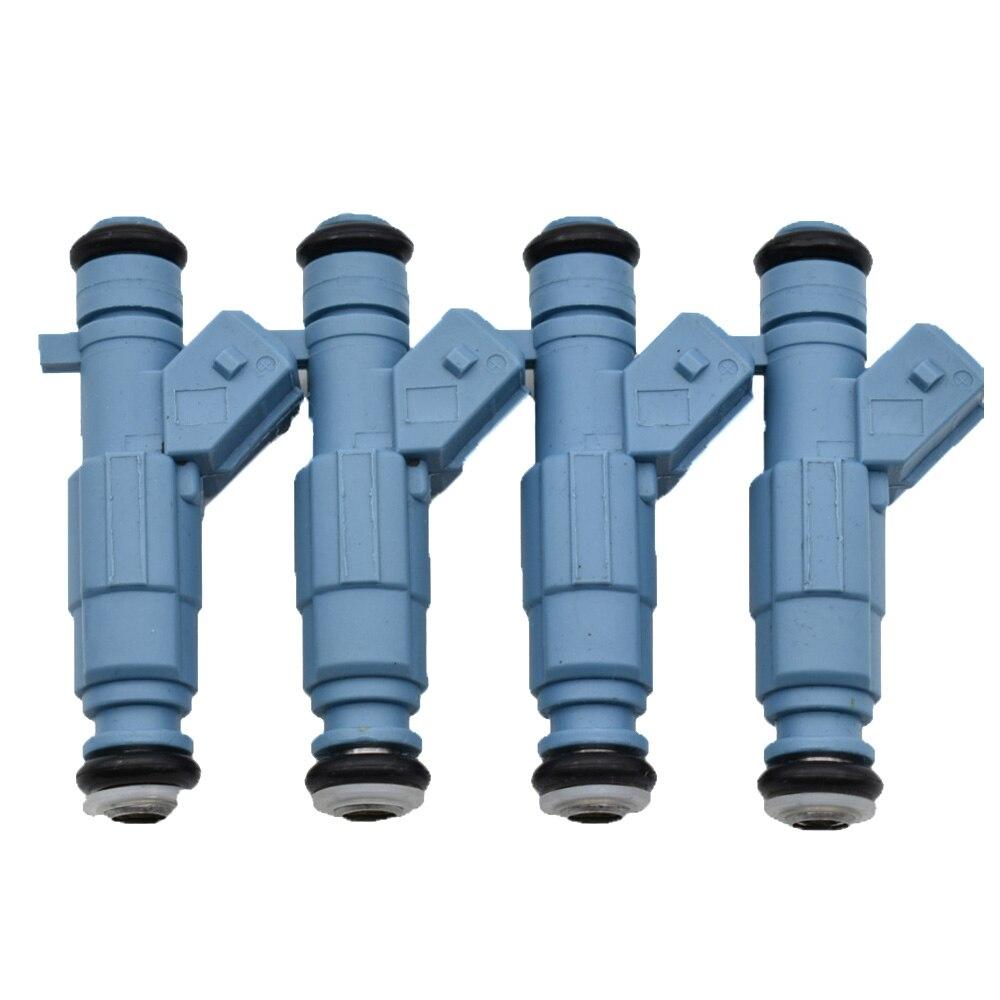 4PC Fuel Injector Nozzle For PEUGEOT 206 307 CITROEN C4 COUPE VTS 2004-2008 0280156139