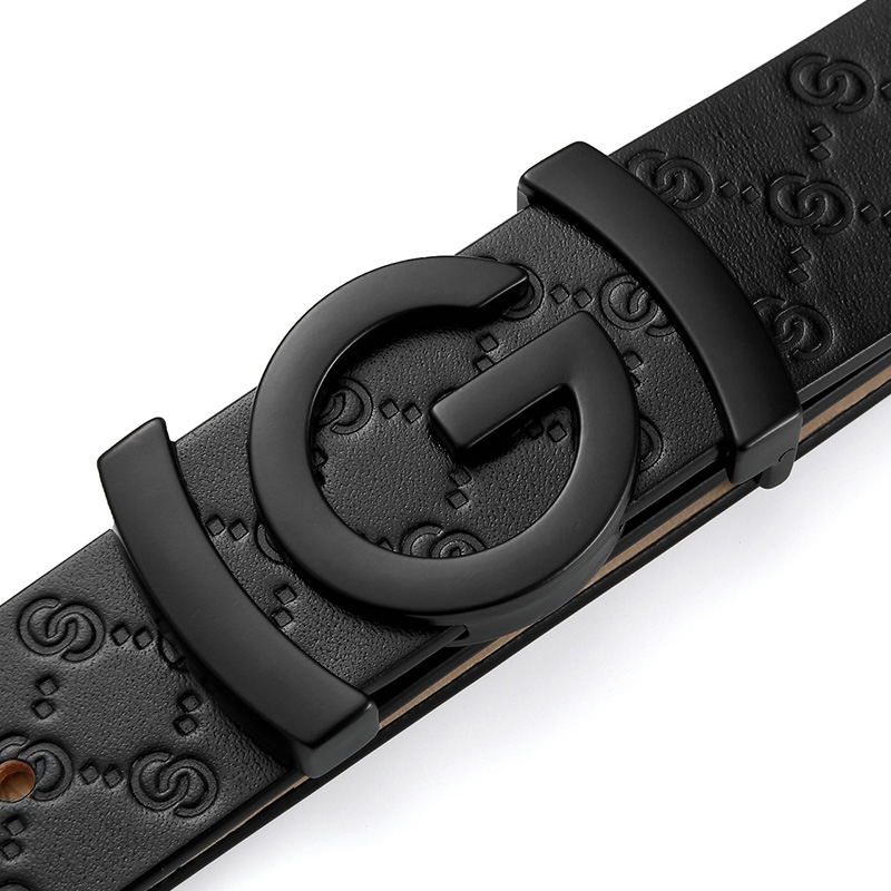 Image 4 - men belt cow genuine leather designer belts for men high quality fashion vintage male women strap for jeans cow skinMens Belts   -